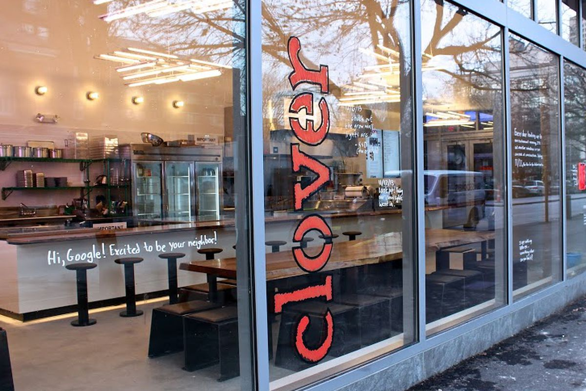Clover's brick-and-mortar location in Kendall Square