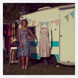 """<a href=""""http://www.gypsydelalune.com/"""">Gypsy De Lune</a> is a D.C. vintage shop that sells the type of retro clothing that ModCloth aspires to design. Plus, they usually operate out of a cool antique trailer."""