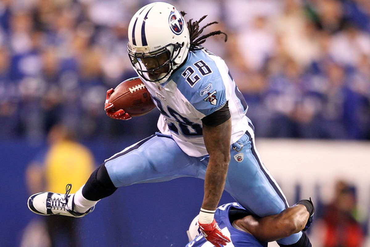 Chris Johnson is poised for a big season for the Tennessee Titans