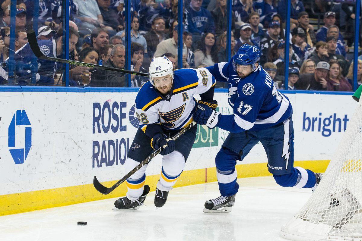 St. Louis Blues v Tampa Bay Lightning