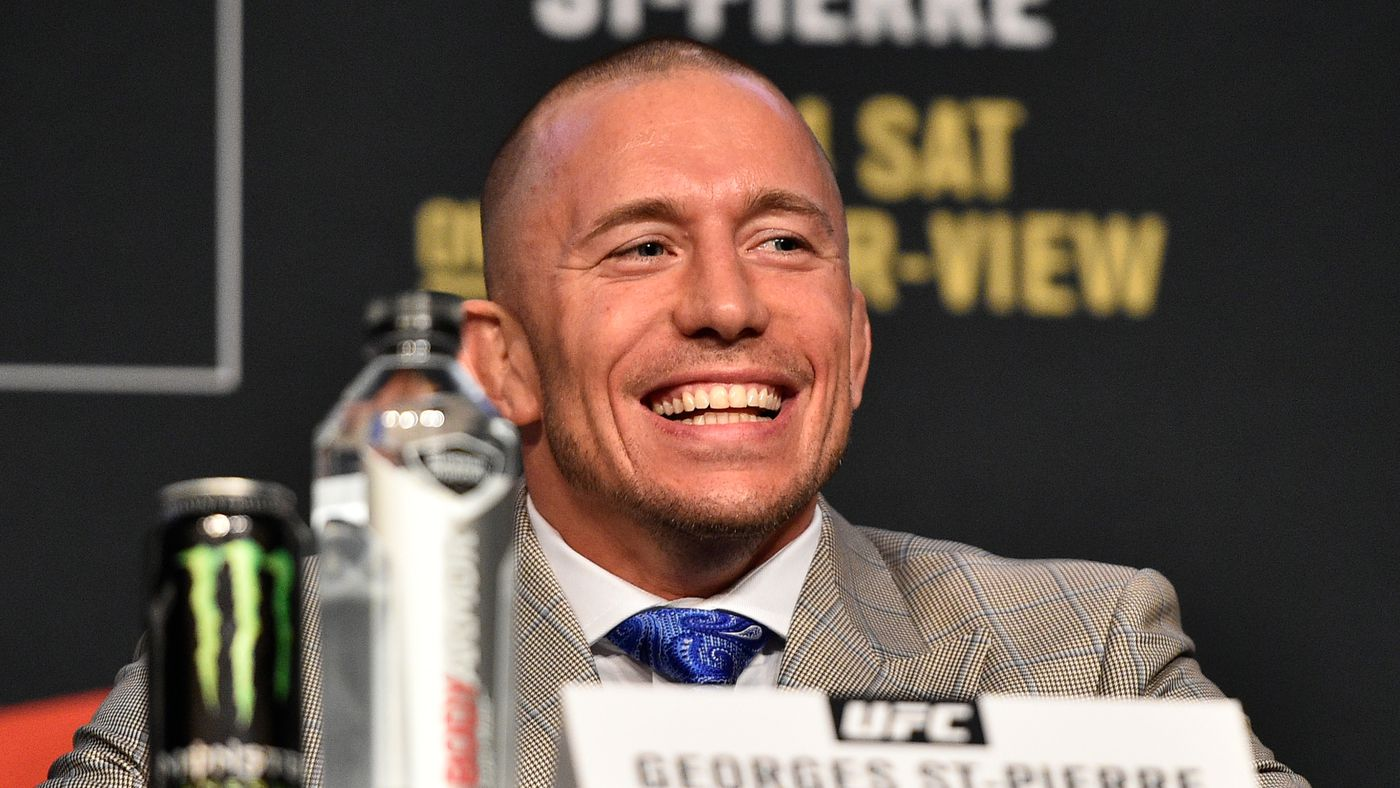 Dana White inexplicably switches gears, suddenly interested in Khabib vs Georges St-Pierre