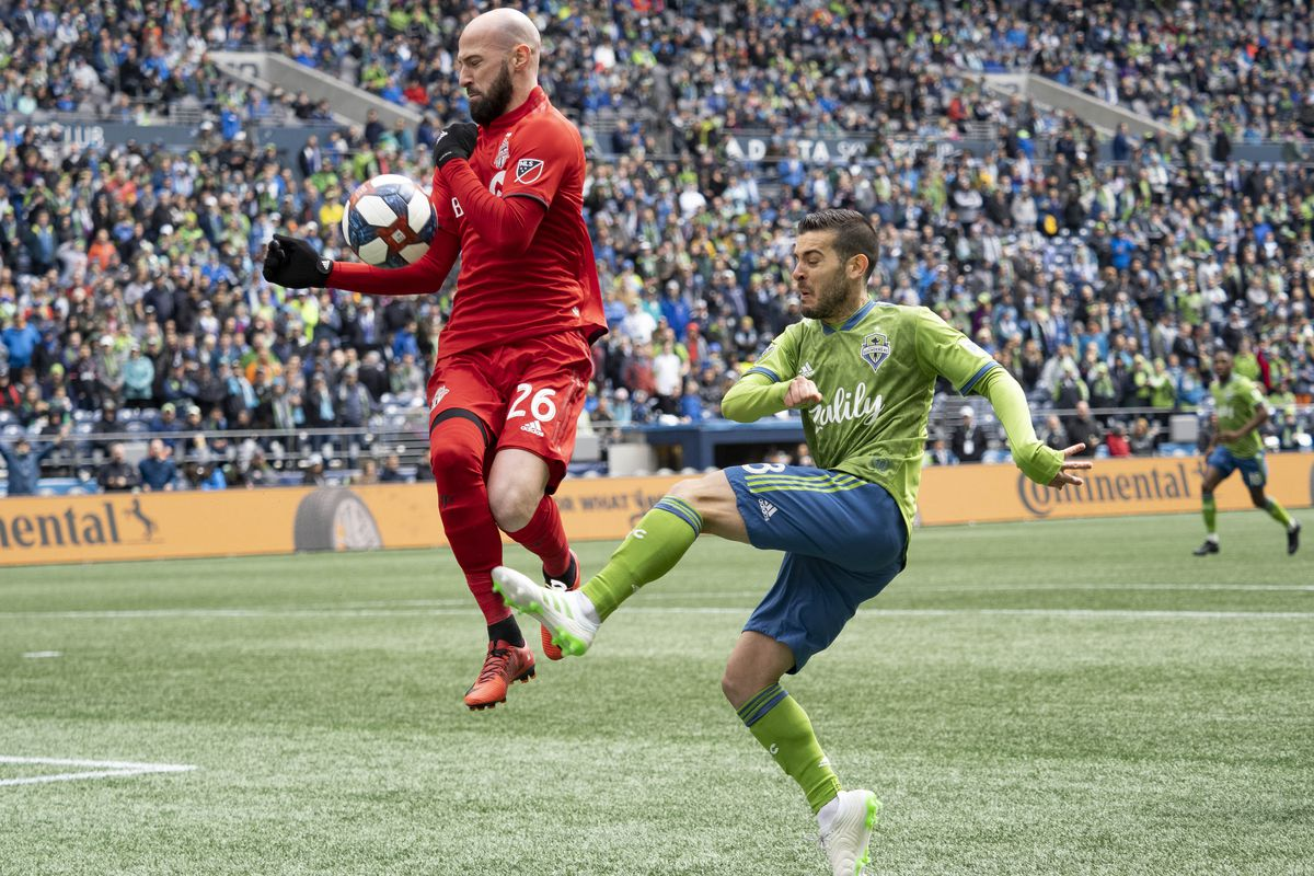 SOCCER: APR 13 MLS - Toronto FC at Seattle Sounders FC