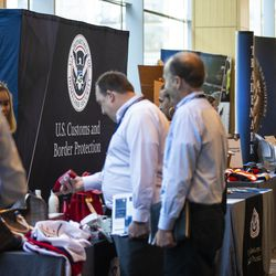 U.S. Customs and Border Protection hosts the 2019 Trade Symposium at the Marriott Marquis Chicago on Tuesday.