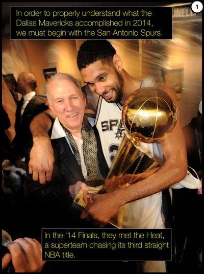 p1 - Dorktown: Mavericks-Spurs, and the greatest coaching performance in NBA history