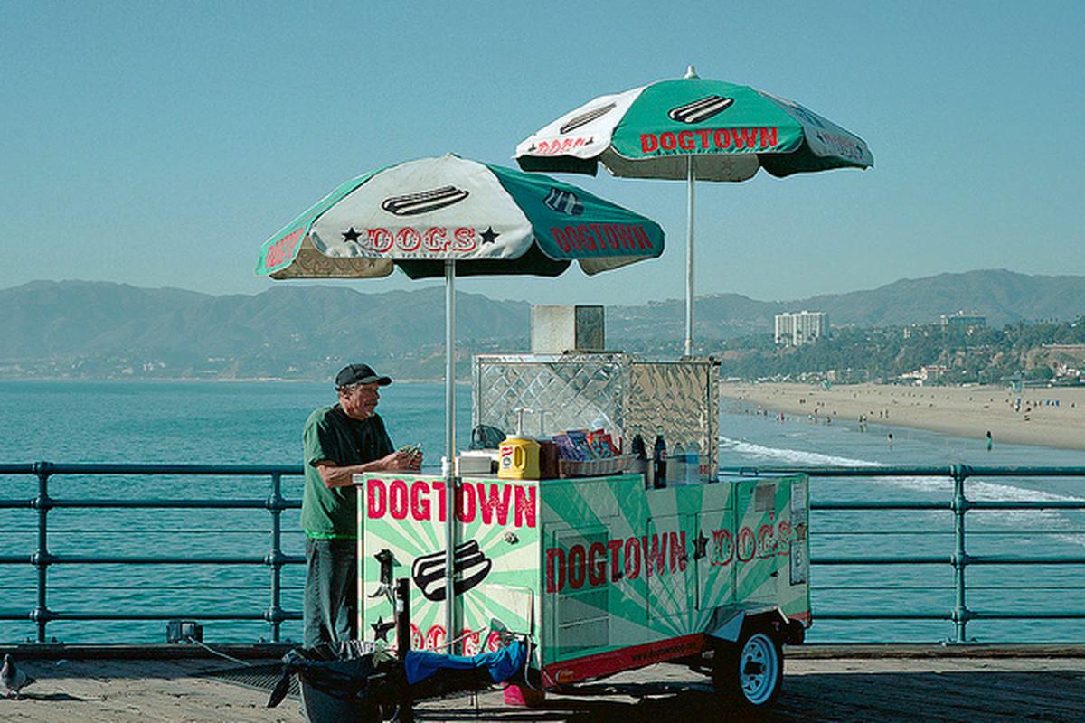 Dogtown Cart, Santa Monica