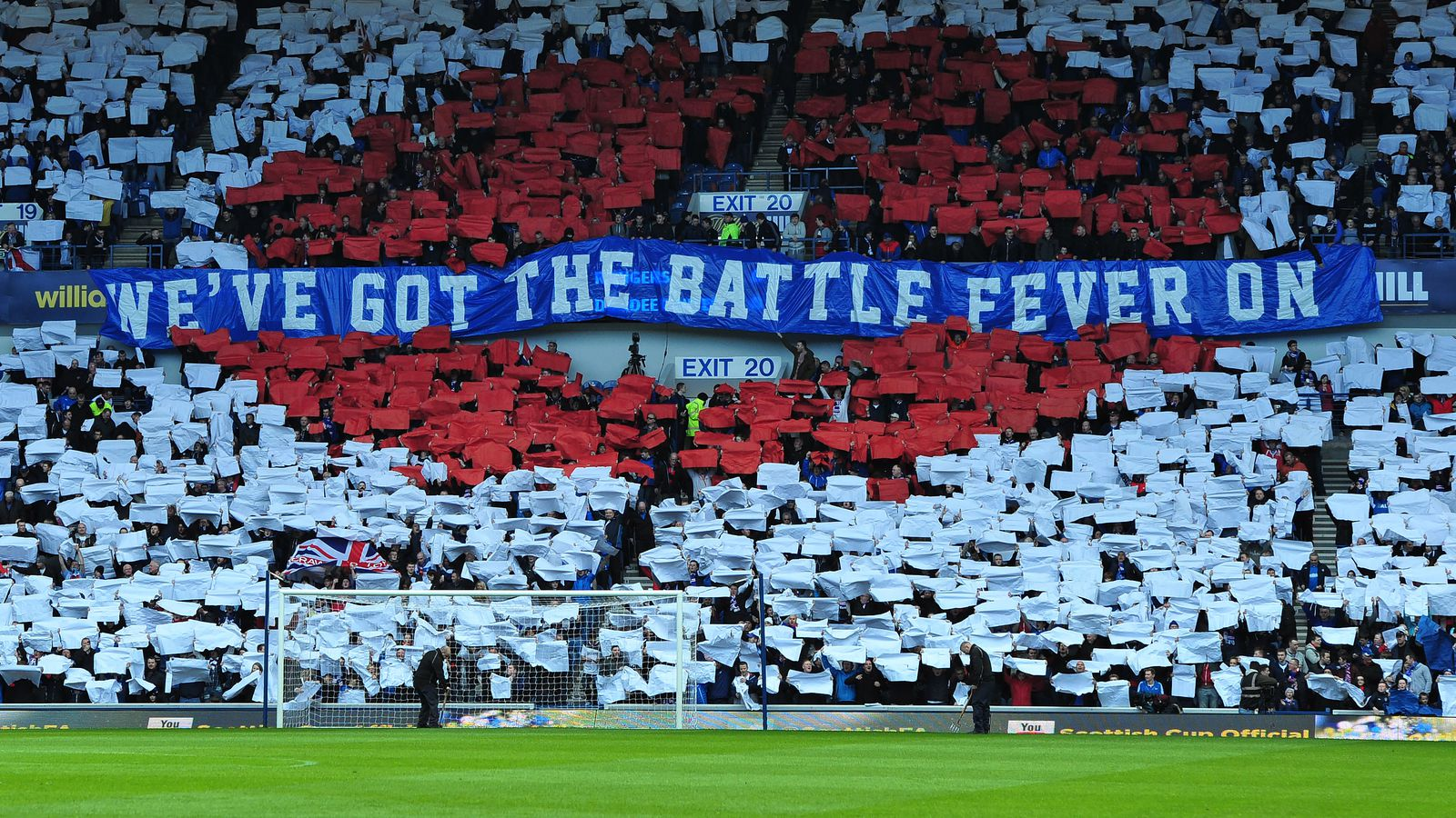Welcome - Got The Battle Fever On