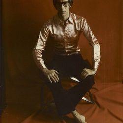 Marie Cosindas, Yves St. Laurent (1968) © Marie Cosindas, Credit: The J. Paul Getty Museum, Los Angeles