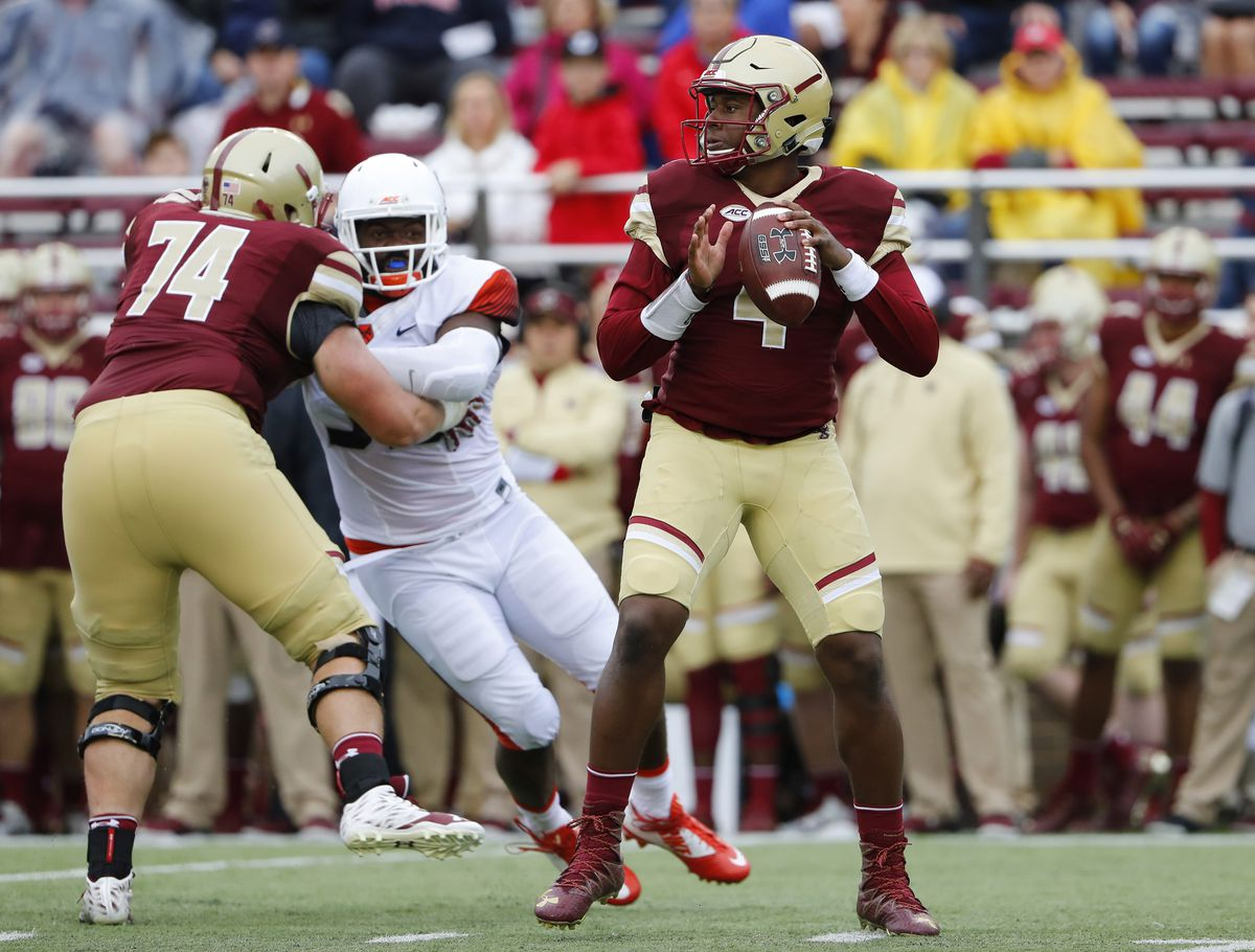 Ncaa Football Syracuse At Boston College