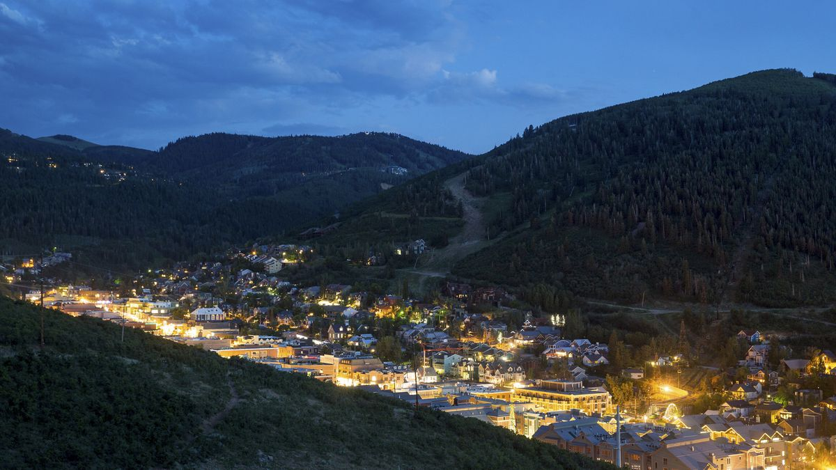 Park City is pictured on Friday, July 14, 2017.