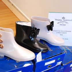 Vivienne Westwood Anglomania x Melissa ankle boots.
