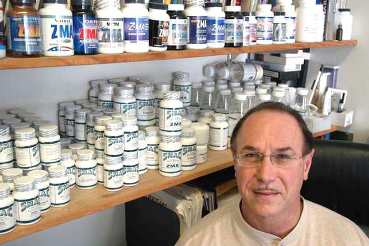 "Photo of Victor Conte via <a href=""http://www.examiner.com/images/blog/replicate/EXID20066/images/ba_athletes_steroids.jpg"">Paul Sakuma</a>."