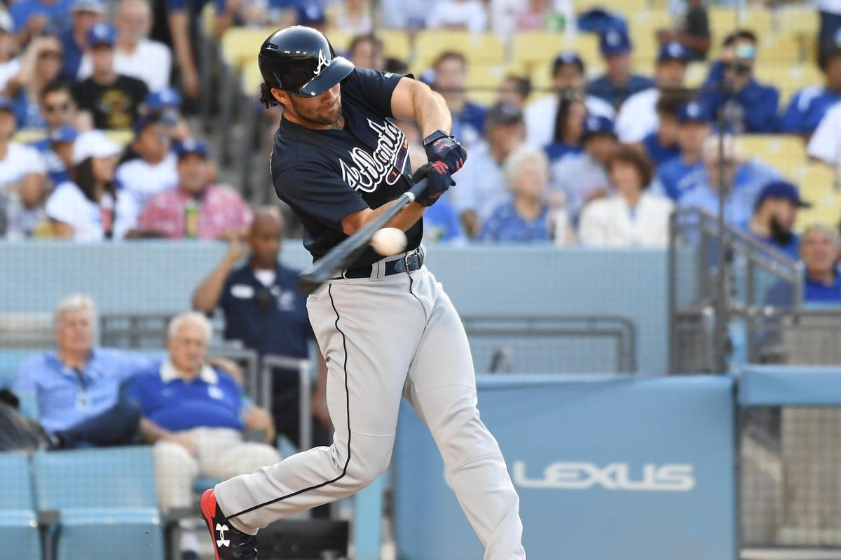Anibal Sanchez Cools Off Red Hot Dodgers Braves Record 14 Hits In 5