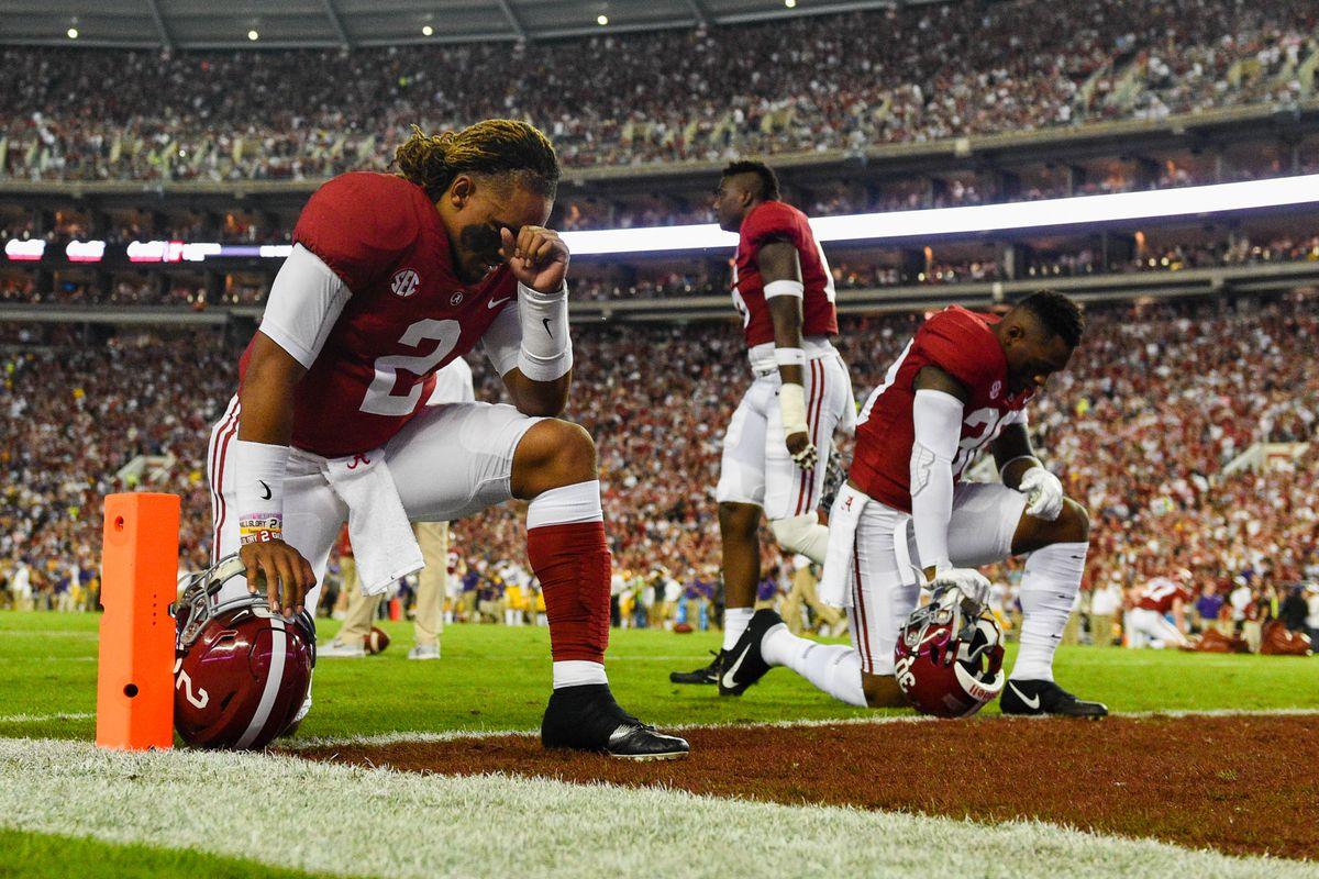 NCAA Football: Louisiana State at Alabama