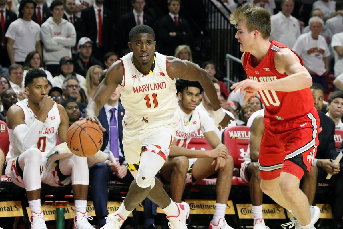Maryland basketball Darryl Morsell vs. Ohio State