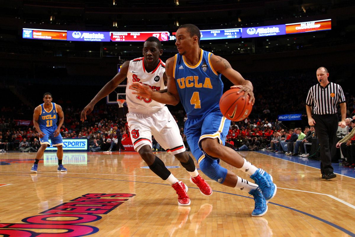 Will Powell remain a Bruin next year? (Photo by Chris Chambers/Getty Images)