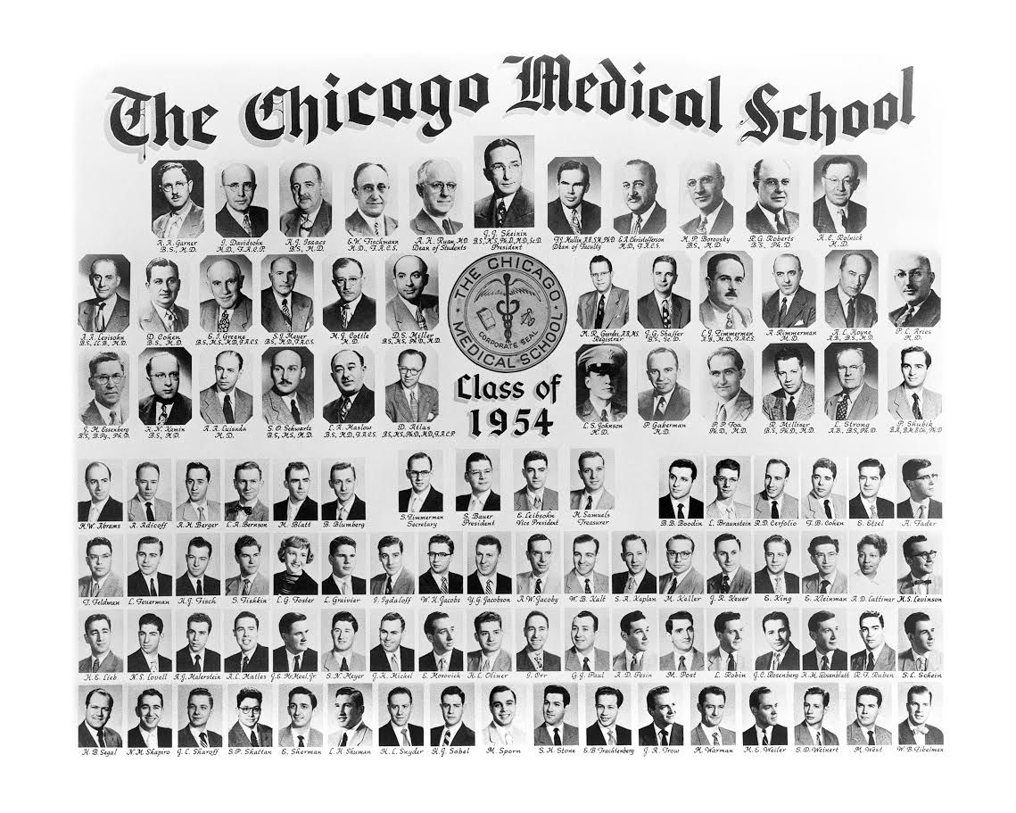 Dr. Agnes Lattimer's graduation photo from the Chicago Medical School in 1954. | Provided photo