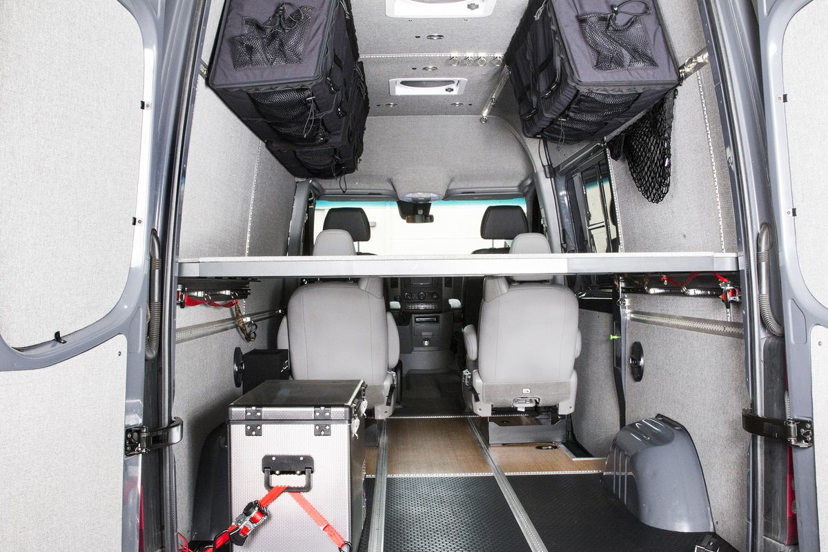 Ford Camper Van >> DIY a Mercedes Sprinter with conversion kits from Adventure Wagon - Curbed