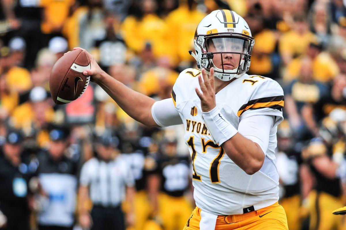 NCAA Football: Wyoming at Iowa