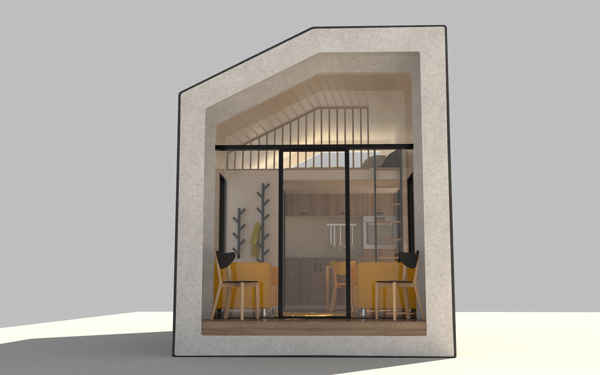 Modular Tiny Homes Made Of Hemp Could Solve Workforce Housing Curbed