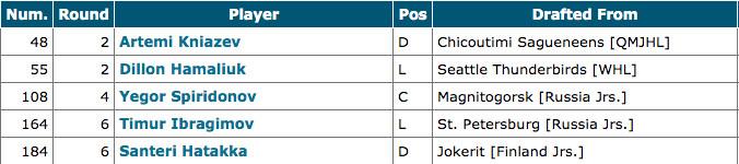 San Jose Sharks 2019 NHL entry draft picks
