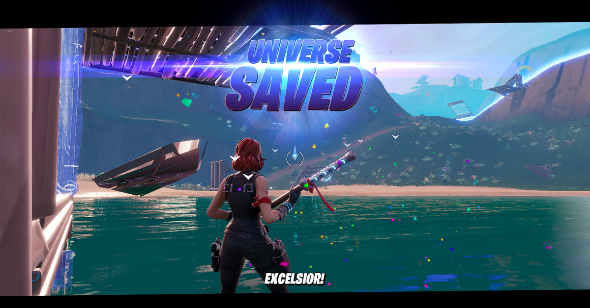 Fortnite's new Avengers: Endgame mode has a shoutout to Stan Lee