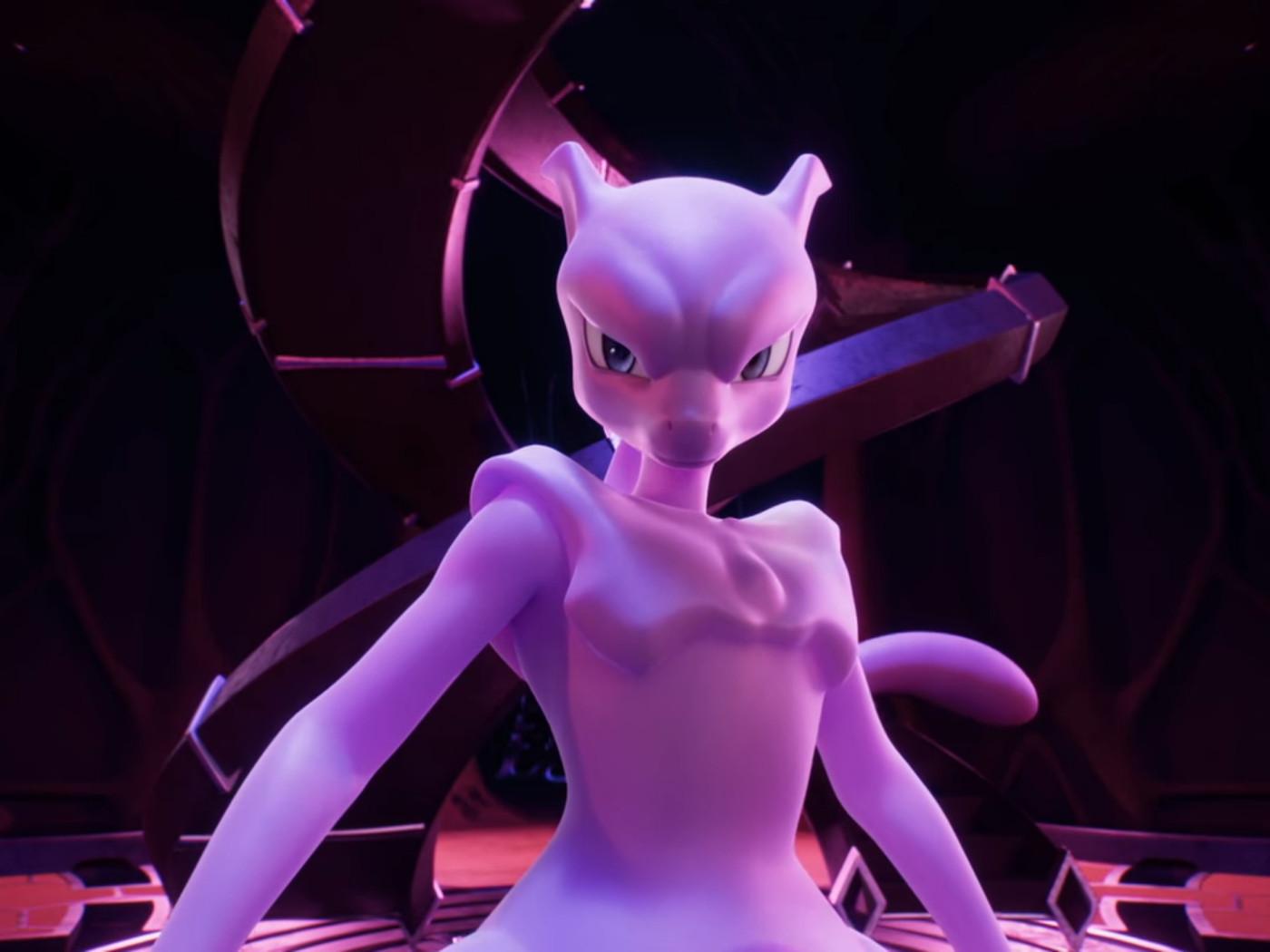 Netflix S Pokemon Movie Mewtwo Strikes Back Evolution Compared