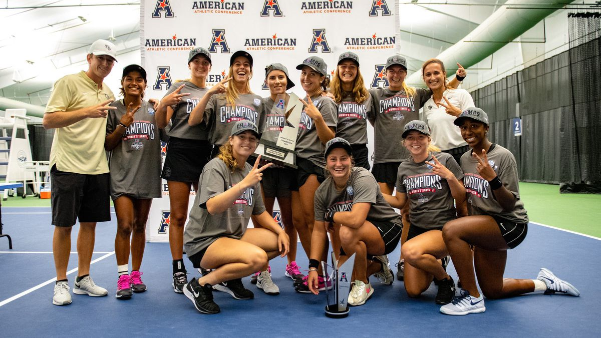 UCF Women's Tennis 2021 Champions