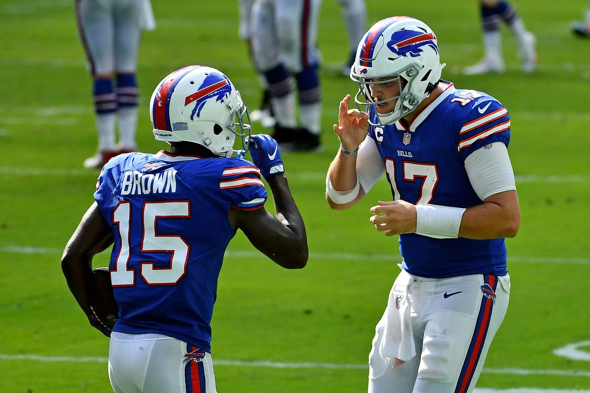John Brown injury: Bills WR upgraded to full practice on Friday - DraftKings Nation