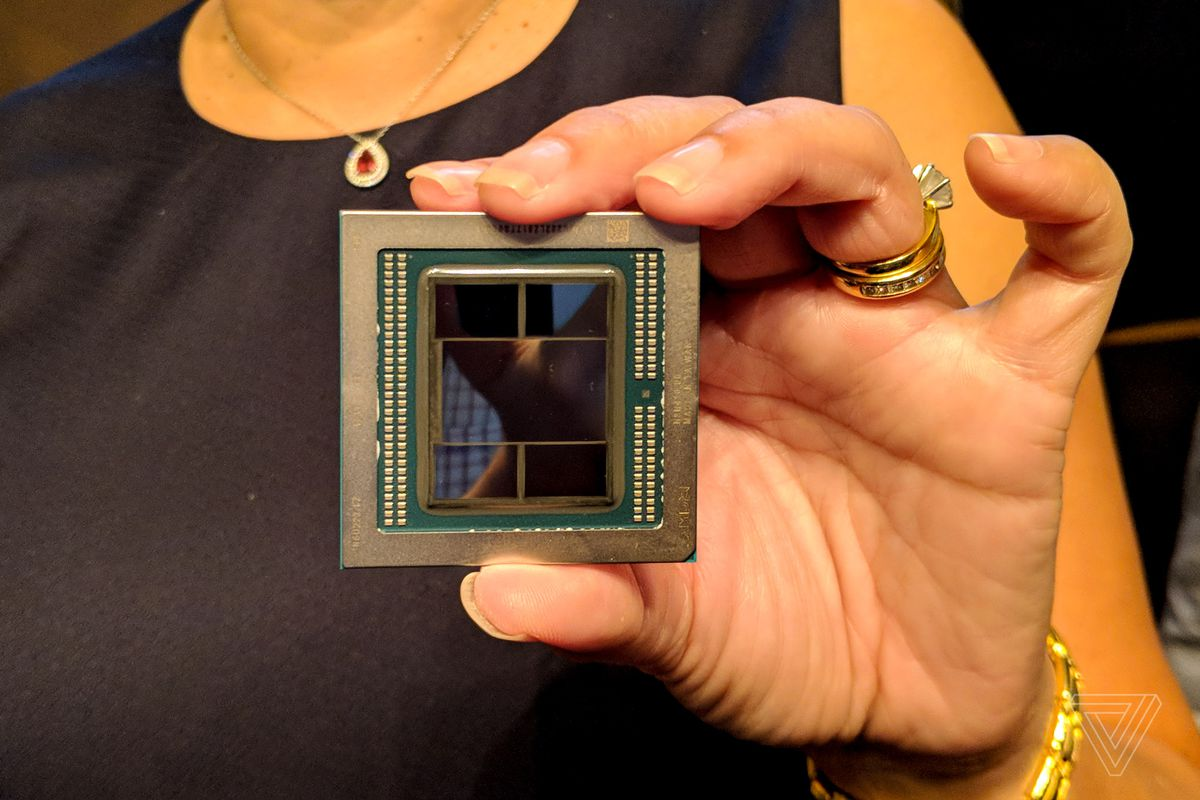 This is the first 7nm GPU, equipped with 32GB of memory - The Verge