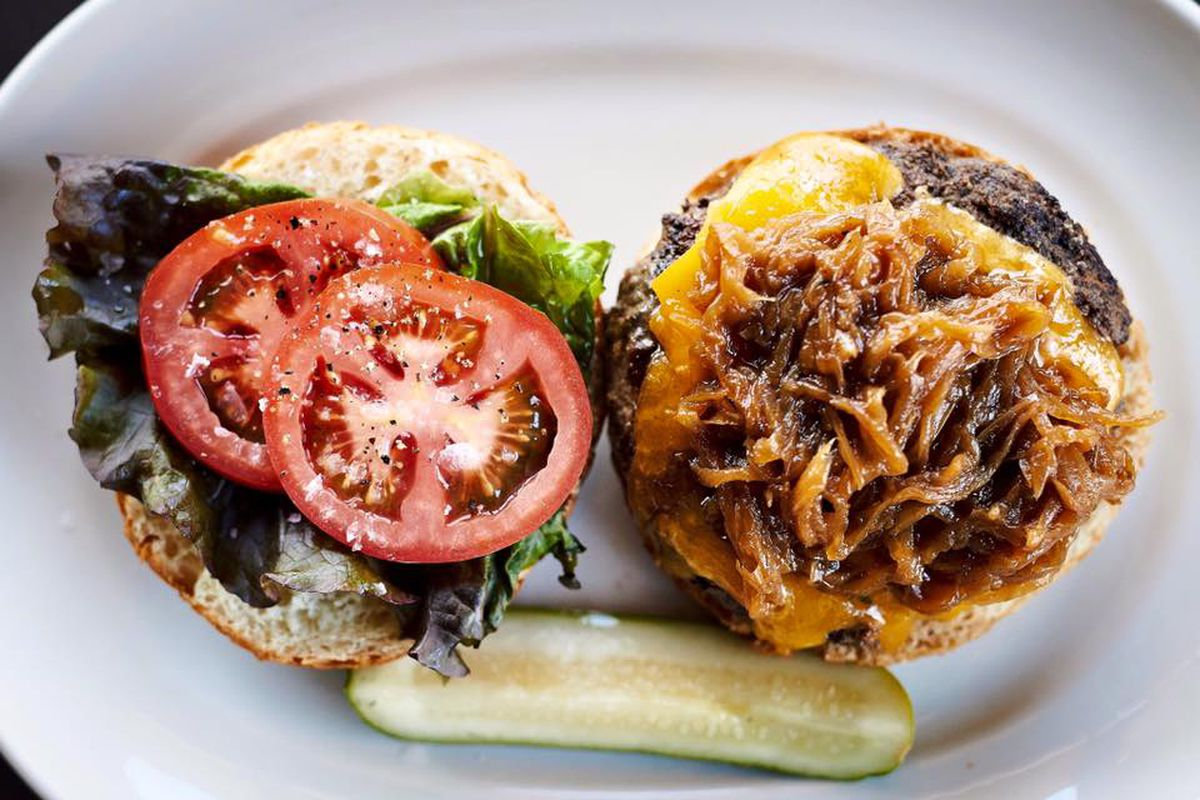 Central Standard's burger