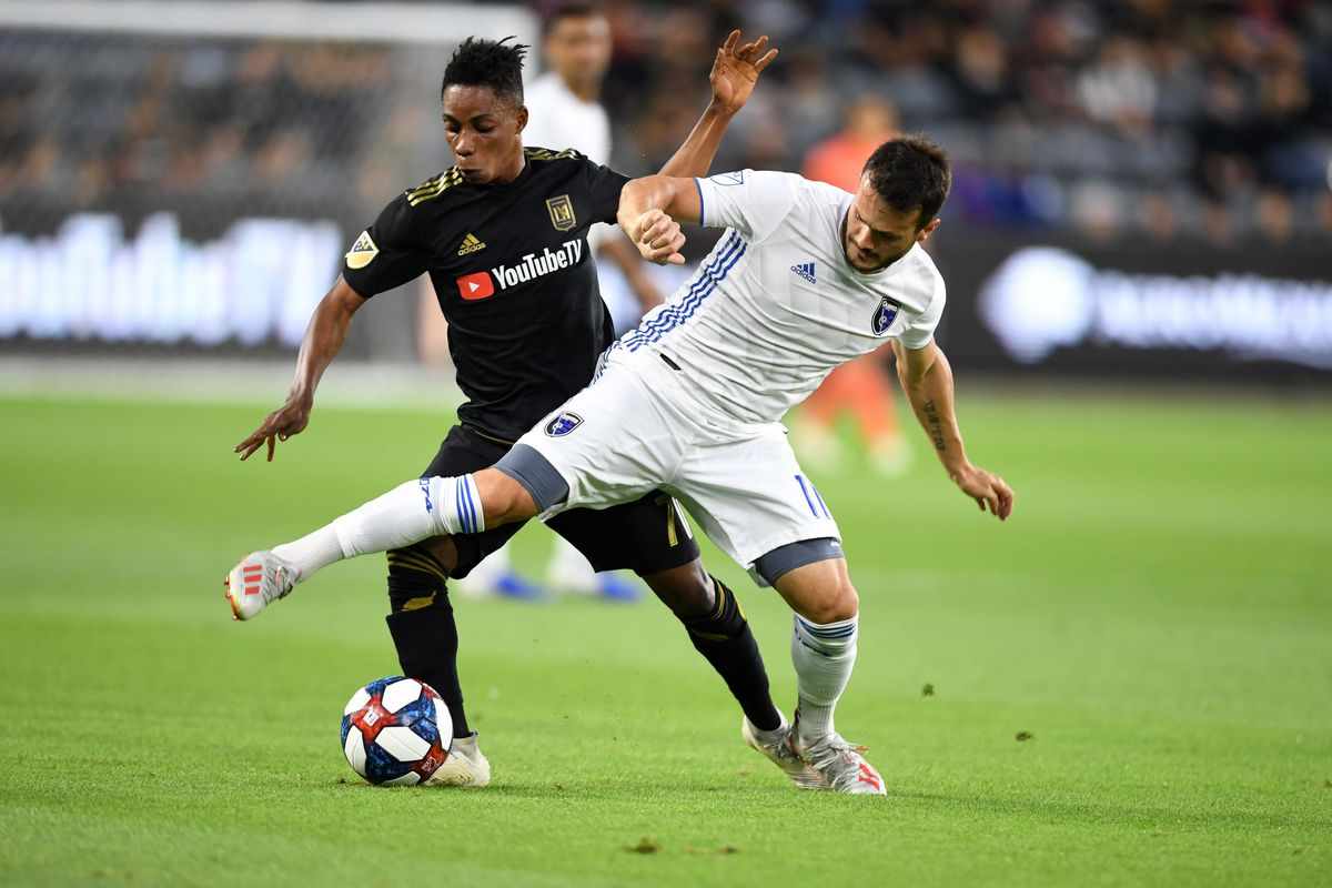MLS: U.S. Open Cup-San Jose Earthquakes at LAFC