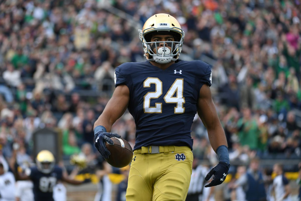 Hyping up Notre Dame tight end Tommy Tremble some more ...