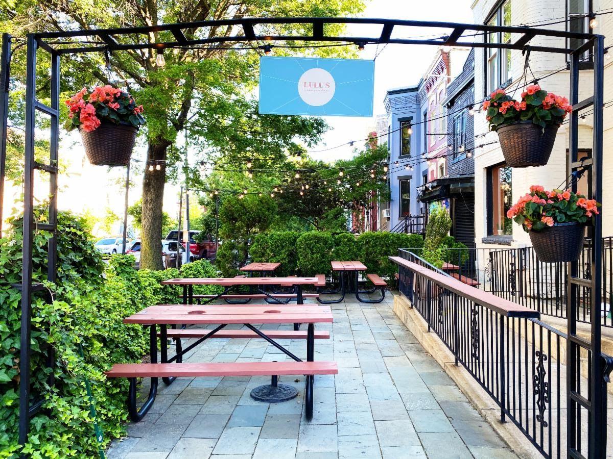 Lulu's Winegarden's ivy-lined front patio debuts Wednesday, June 10.