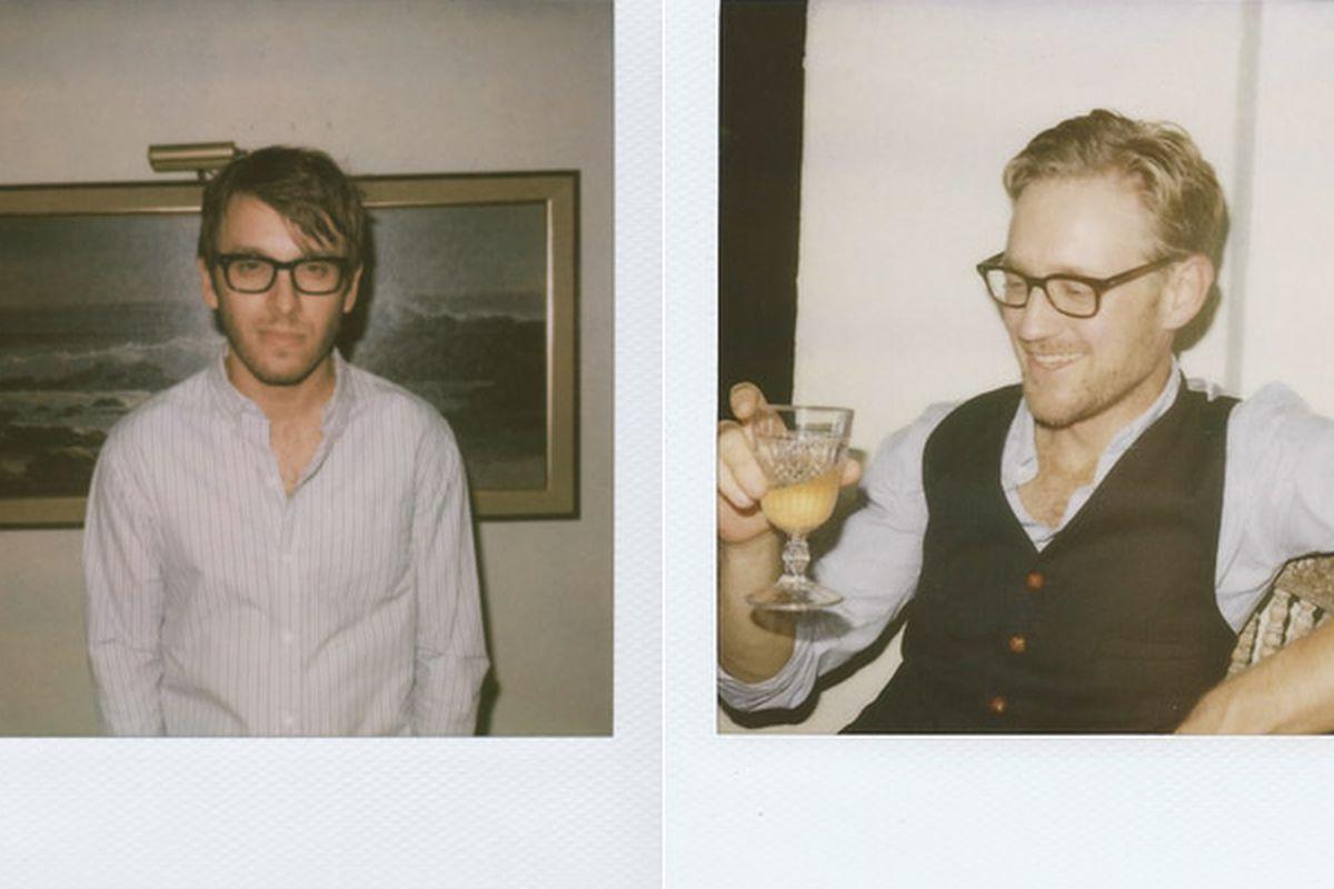 Scott Sternberg, left, and Kevin West. Images via Hammer Museum