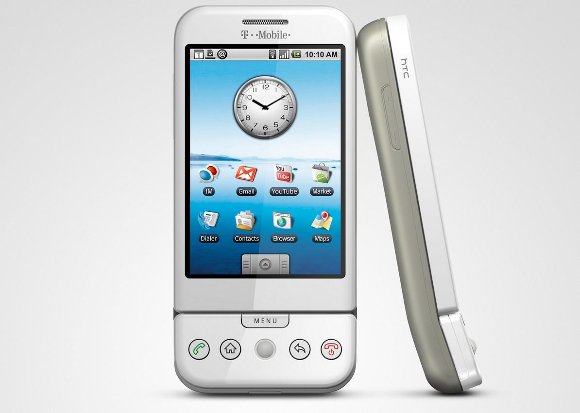 Htc dream (g1), o primeiro smartphone android
