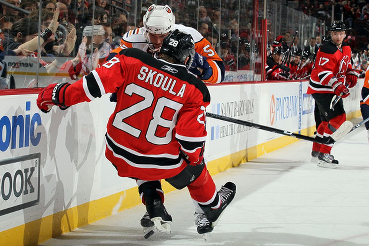 The Curse of Martin Skoula may soon be over! Unless The Curse of Martin Skoula was him playing for the Wild, in which case, it has been for some time.