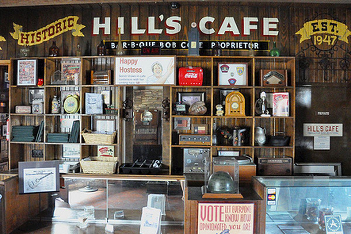 Hills Cafe.