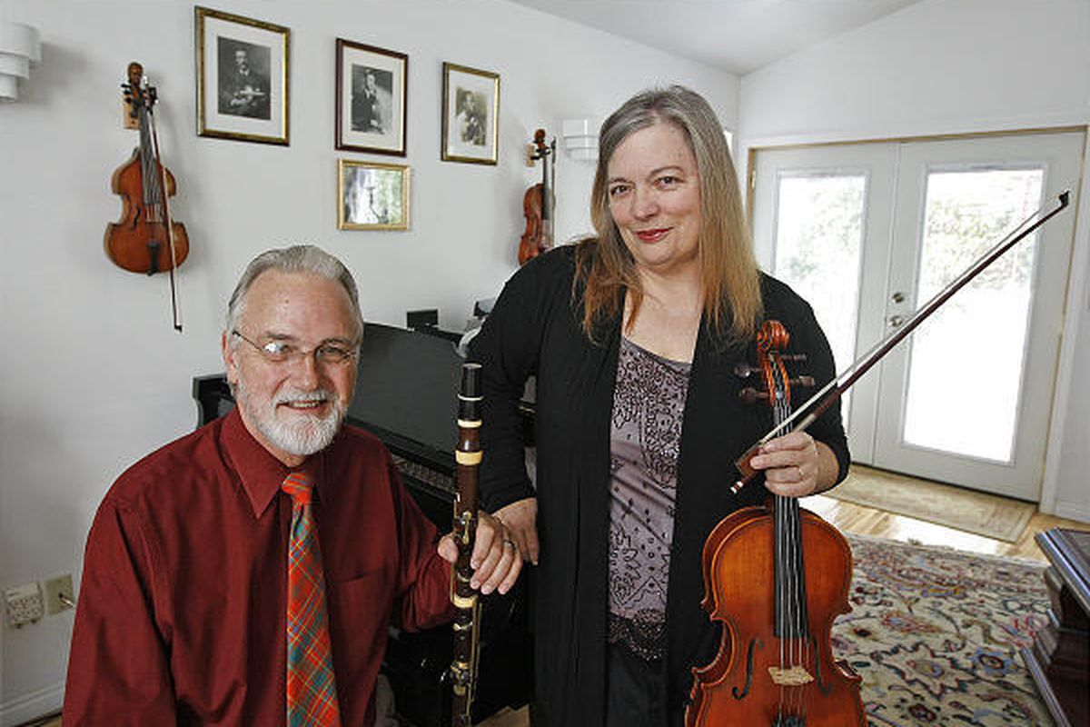Russell and Leslie Harlow are artistic directors of the Park City Music Festival, which they started 25 years ago.