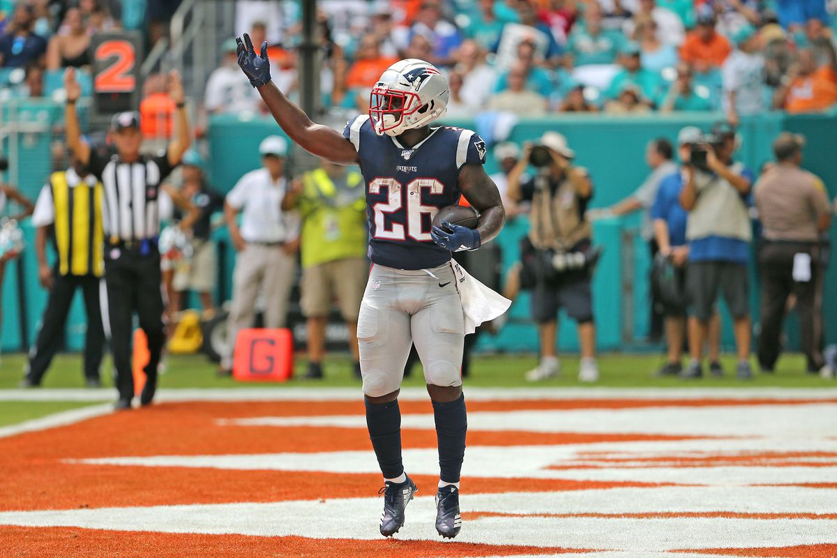 Patriots, Sony Michel aims to improve the run game