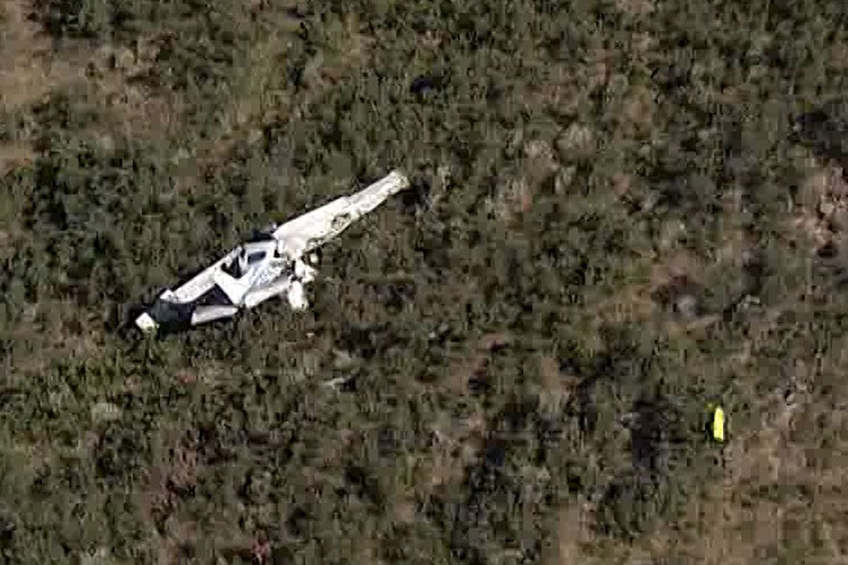 Plane crash kills 2 men in mountains of eastern Utah