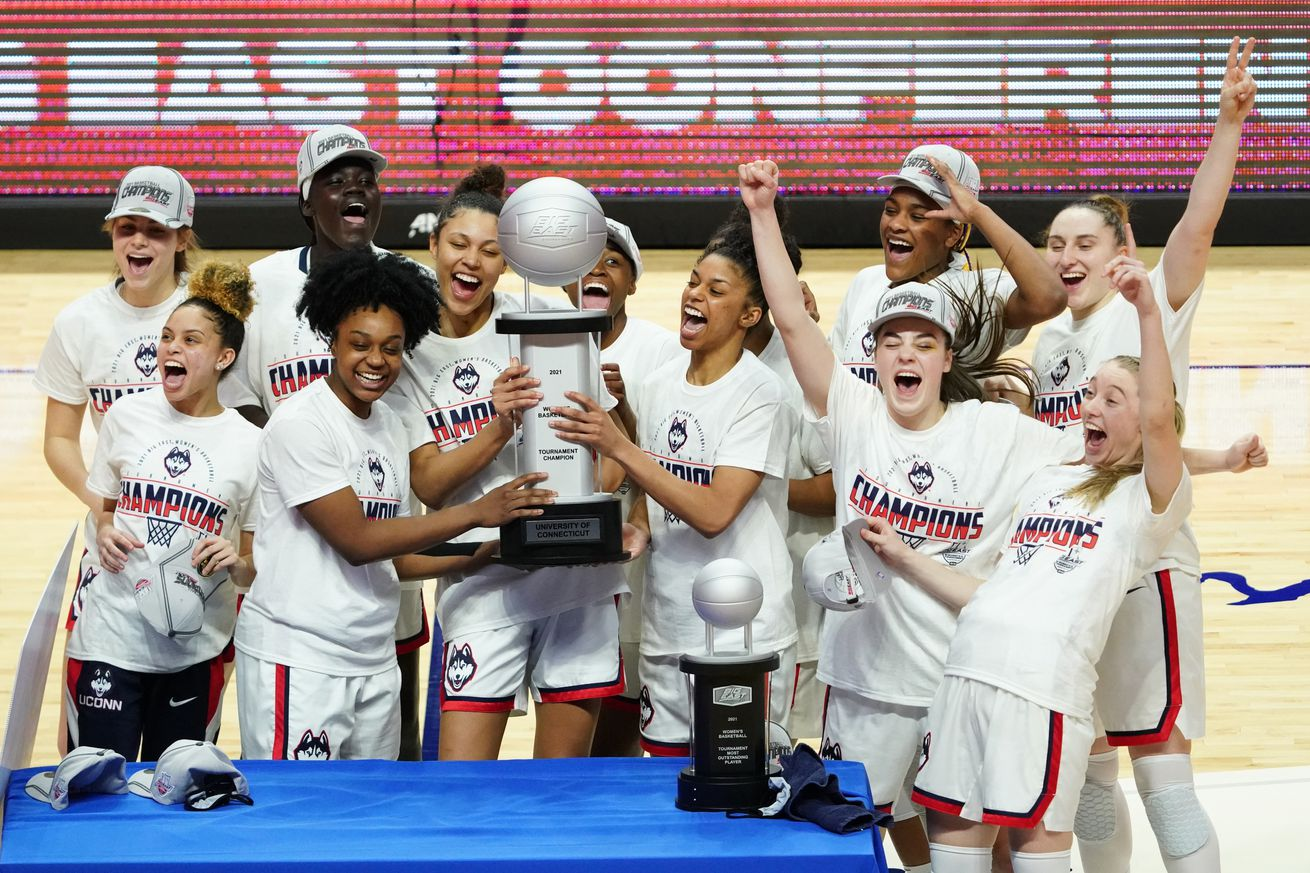 NCAA Womens Basketball: Big East Conference Tournament-Connecticut vs Marquette