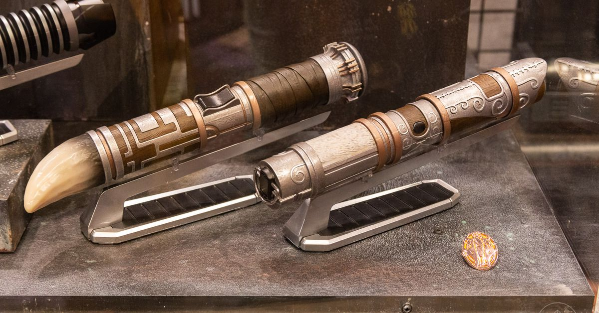 How fans will make their own lightsabers at Disney's Star Wars land