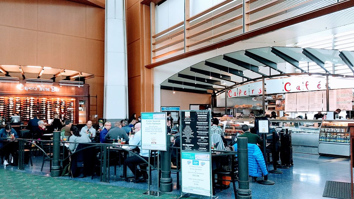 Where To Eat At Portland International Airport Winter