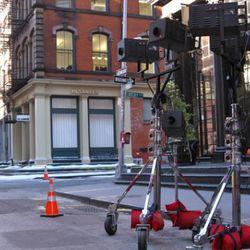 NYC is one big set.