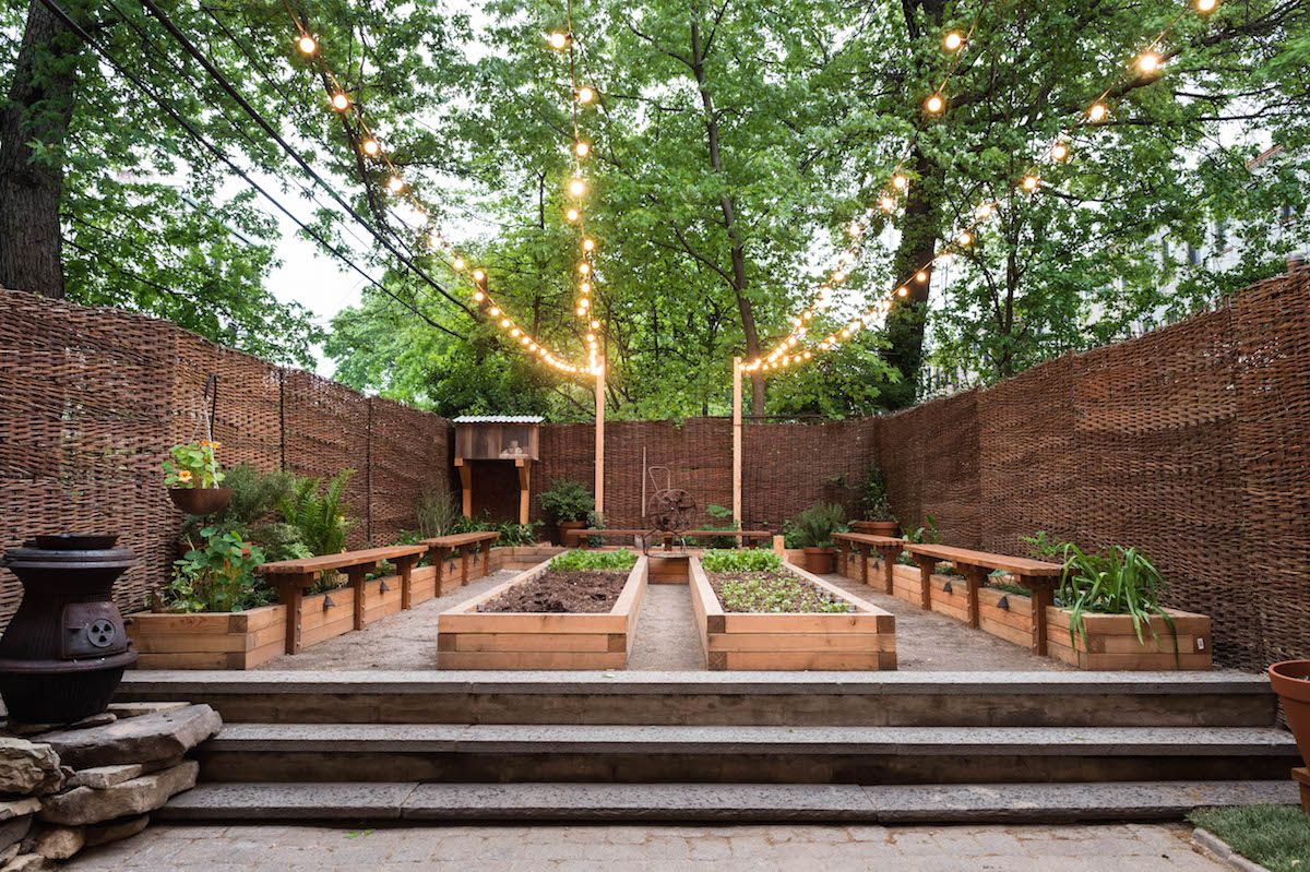 Olmsted garden