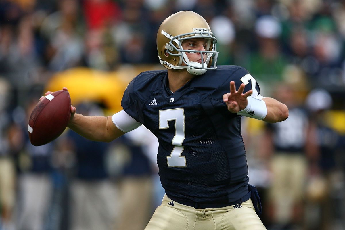 Notre Dame Football: Jimmy Clausen Was Just The Greatest - One ...