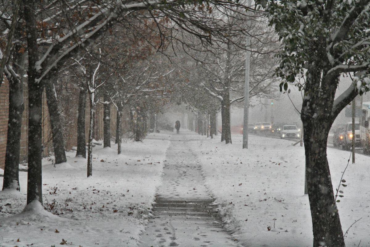 Snowstorm In Toronto