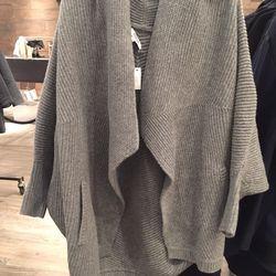 Merino wool cardigan, $35