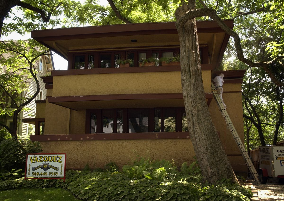 The Gale House is another Frank Lloyd Wright design, located in Oak Park's Wright Historic District. | Sun-Times file photo