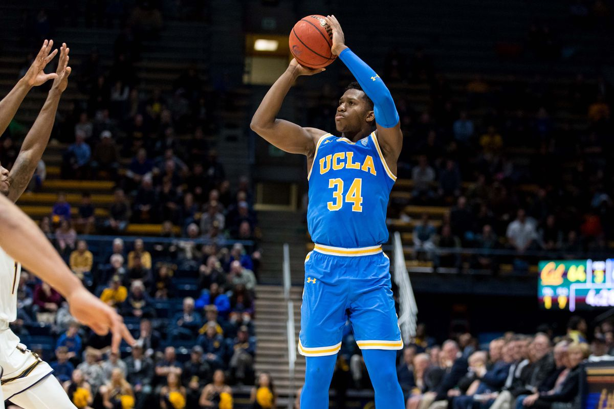 best sneakers fcc5a 55e64 UCLA Basketball: Bruins Pull Out Victory Over UC Berkeley in ...
